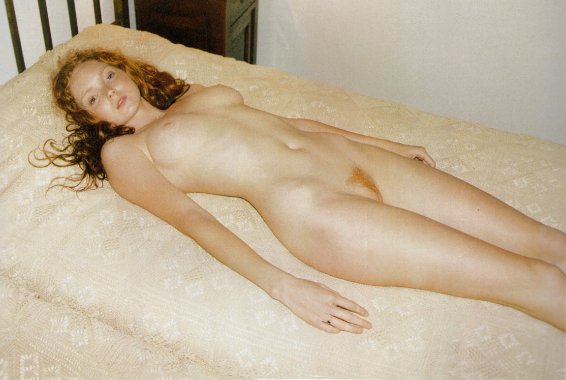 mmm lily cole. I love Juergen Tellers work
