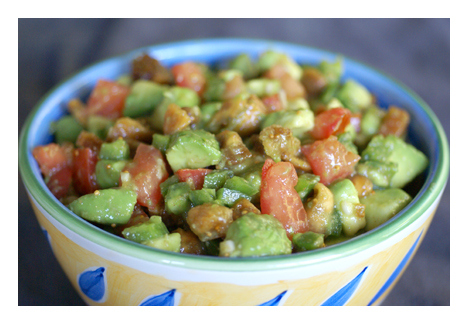 Fig Avocado Salsa