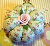 Rosey Little Pincushion