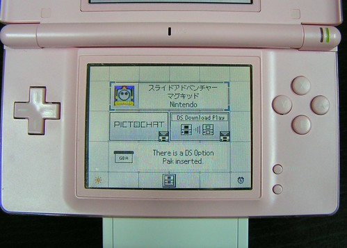 DS with Slide Controller attached