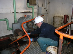 Engine room cleanup