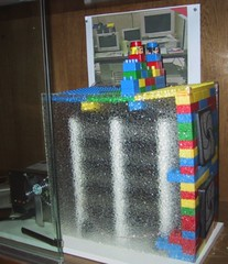 Google Storage Server made from LEGOs