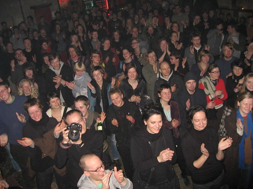 Efterklang audience in Leipzig