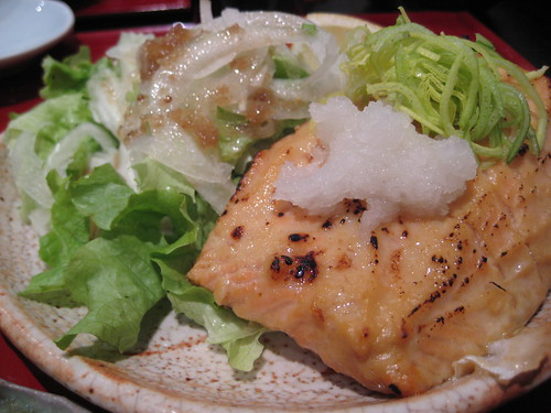 saumon grillé avec miso