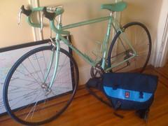 Newish Bike (leahculver) Tags: bike bicycle whiteboard anemone