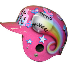 Softball helmet