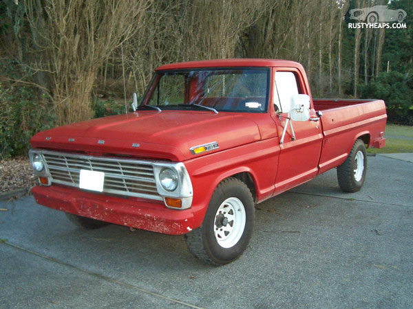 "This was my first ""vintage"" truck, and it wasn't a bad one. I"
