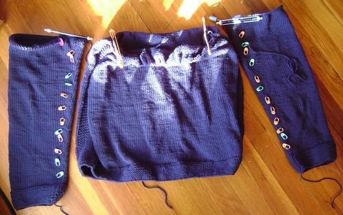 Cobblestone sleeves & torso
