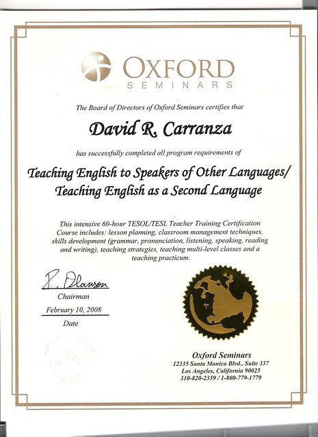 Accredited Online: Accredited Online Tesol Certification