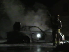 Abandoned Car Fire