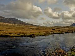 Ben Gorm 2 (schelly_m) Tags: ireland mountains castle galway window clouds landscapes clare connemara limerick bunratty connemarairelandlandscapes
