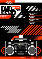 Music Factory Poster