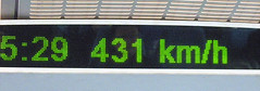 Maglev speed