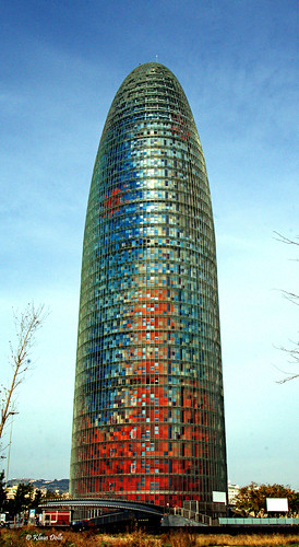 Agbar Tower, Barcelona (3) by Klaus Dolle - Photography.