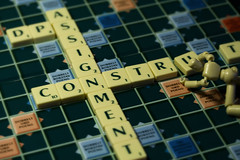 Construction (hebedesign) Tags: construction letters assignment scrabble stikfas dps digitalphotographyschool dpsassignment