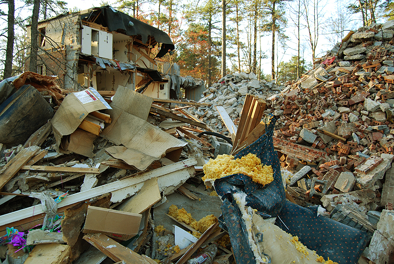 Rubble and Building