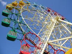 "5Ferris wheel (""KIUKO"") Tags: park sky lumix colorful ferriswheel  attraction"