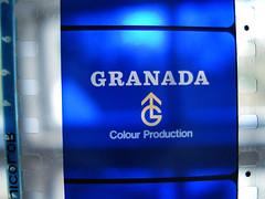 Granada TV (Oliver Wood Photography) Tags: film television 35mm logo manchester memorabilia telecine filmediting ident granadatv gashstock