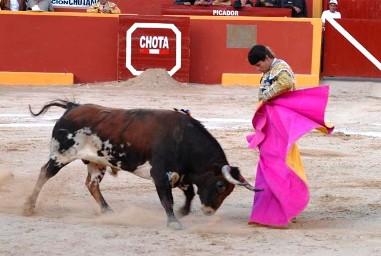 Iván García en Chota, Perú.