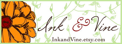 Ink and Vine Logo