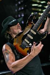 Richie Sambora of Bon Jovi @ Nashville (crashmattb) Tags: music rock concert artist nashville bokeh guitar tennessee performer bonjovi richiesambora canonef50mm18ii canoneosdigitalrebelxti sommetcenter losthighwaytour