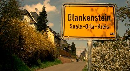 Ortseingang Blankenstein