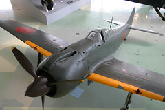 Kawasaki Ki-100 Type 5   (eyekungfu) Tags: museum japanese force air royal army london imperial kawasaki   100 ki100