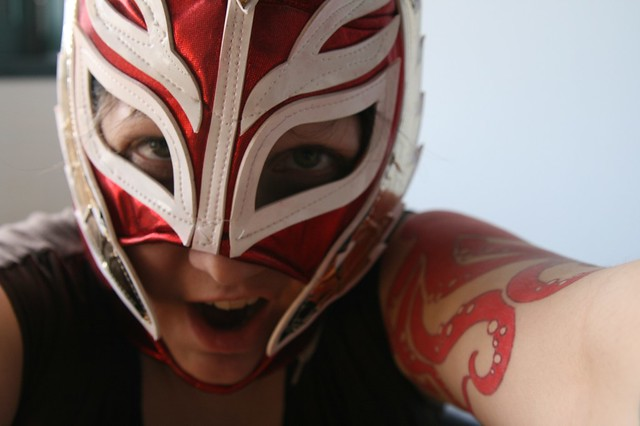 day 127, Lucha Libre style