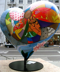 Hearts in San Francisco.