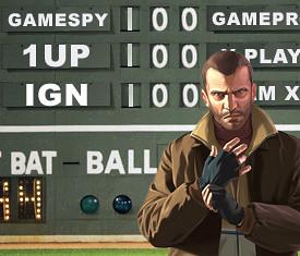 GTA IV Fenway Scoreboard