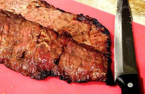 broiling skirt steak