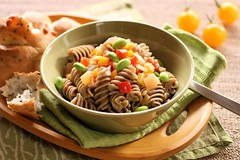 Soba fusilli (bananagranola (busy)) Tags: food cooking japan japanese pasta homemade meal soba japanesefood fusilli