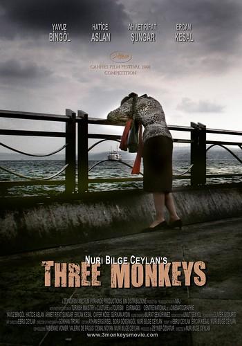 Üç Maymun Afiş - Three Monkeys Poster Yönetmen Nuri Bilge Ceylan (2) von divxplanet.