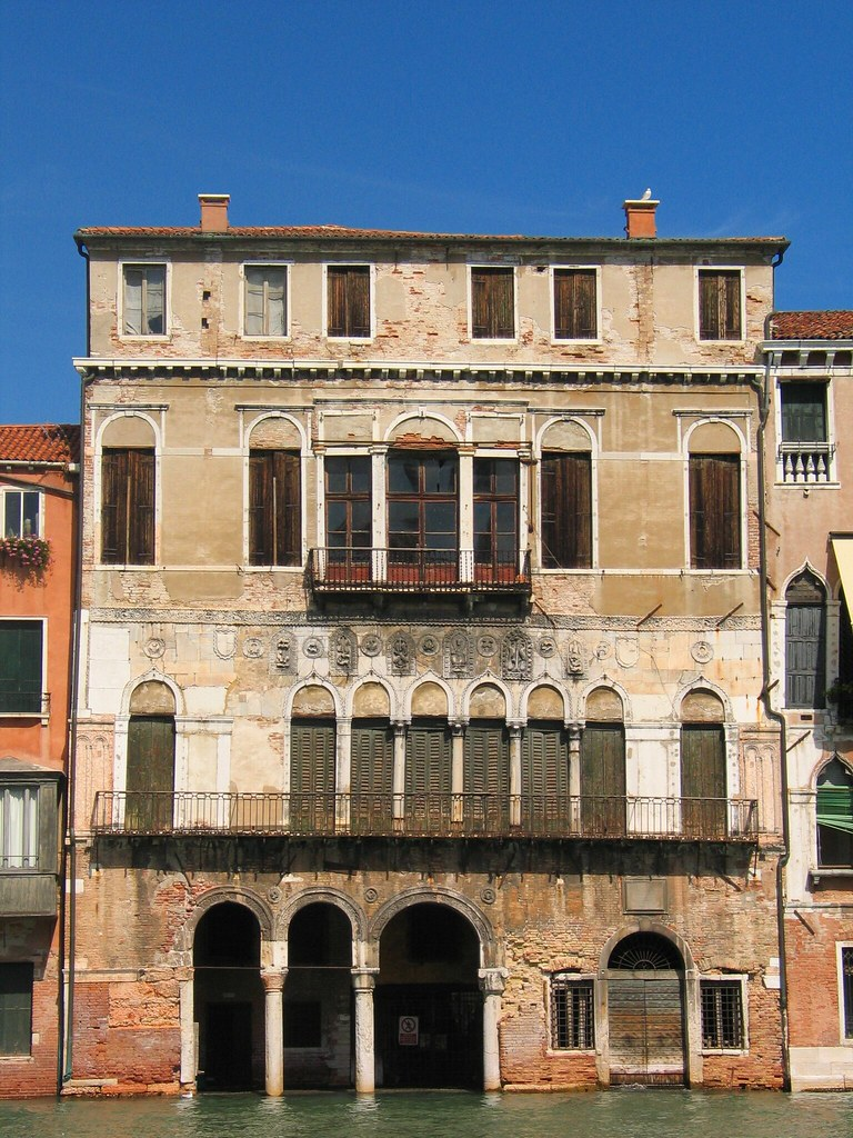 Unknown architect, Ca da Mosto, early thirteenth century, Grand Canal, Venice