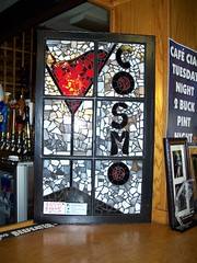 Cosmo Window (kellyrobbinsart.com) Tags: stainedglass recycledwindows