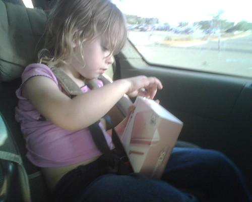 Got her DS