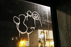 10Foot (Alex Ellison) Tags: 10foot northlondon urban graffiti graff boobs night throwup throwie