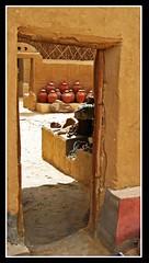 (859) Door / Farafra Oasis / Egypt (unicorn 81) Tags: ægyptusintertravel mapegypt égypte aegyptus voyage excursion rundreise 2009 reise egypt desert africa travel sand sahara libyschewüste schulzaktivreisen adventure april2009 landscape saharacolors misr oasis trekking farafraartmuseum badrmuseumfarafra egipto color colorful ägypten egyptian roundtrip egypttrip ägyptenreise northafrica nordafrika egypte egitto egipt egypten αίγυπτοσ ægypten meinjahr2009 tür doors door