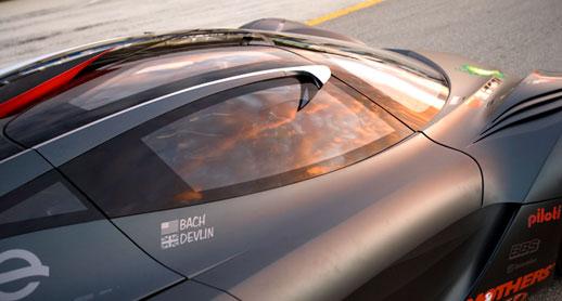 Courage C65 LMP2 platform Mazda Furai