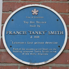 Photo of Francis 'Tanky' Smith blue plaque