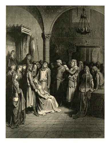 017-Lancelot y Elaine 2-Work vol 5 1909- Alfred Tennyson