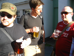Remy, James and Cennydd