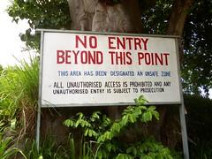 No Entry (spantil) Tags: island volcano hills montserrat caribbean soufriere