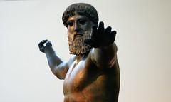 Artemision Zeus or Poseidon, oblique view, c. 460 B.C.E.