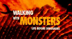 walking with monsters logo