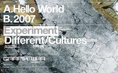 Personalwork/ Abstrakt:map03 ([GW] GrafikWar) Tags: poster design earth experimentation typo graphique grafikwar