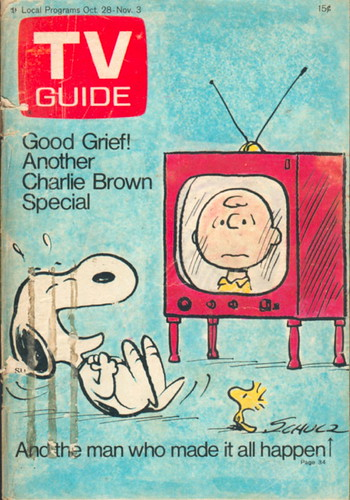 Tv Guia Snoopy Woodstock Charlie Brown