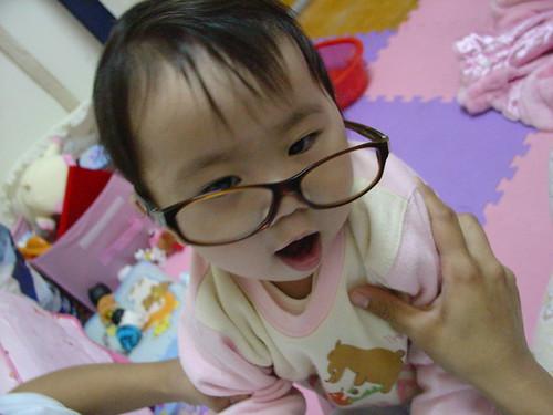 20061231 戴她老爸的眼睛