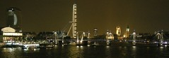 Thames Panoramic (Aperture_Addict) Tags: london thames night bigben southbank top20flickrskylines scenicsnotjustlandscapes