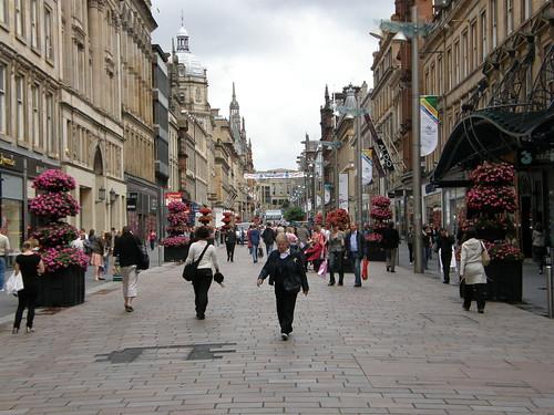 Glasgow street view